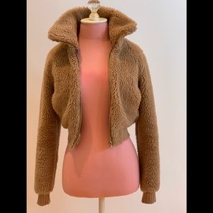 Fall teddy bear jacket